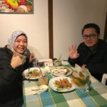 Thank you for coming today. They came to taste our Karaage chili mayonnaise that they knew had a great reviews. They from Indonesia and wanna go to onsen tomorrow. We hope you have a great day. Please come again.