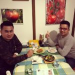 Lovely Muslim guests from Malaysia. They enjoyed Ayam Goreng and Halal Kobe Beef. Thank you for your visiting.