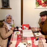 Lovely Muslim guests from Malaysian. Their next destination is Tokyo. Have a nice trip.
