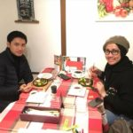 Our lovely Muslim guests. They are having a Japanese trip and will go to Tokyo next. Have a nice trip.
